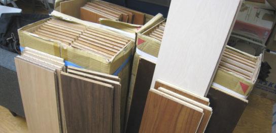 たくさんの試験用床材