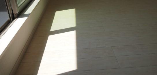 ワックスフリー床材