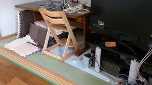 和室へ家具移動