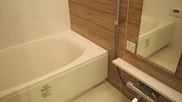 浴室コーティング施工後