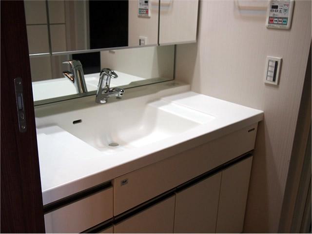 洗面台水周りコーティング