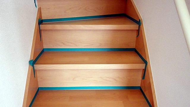 階段のコーティング