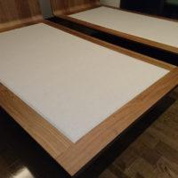 2台のベッド